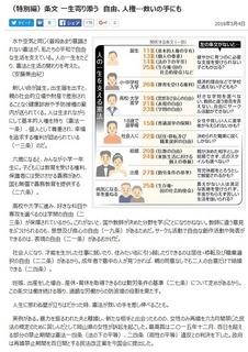 東京新聞(特別編) (2016年5月4日)
